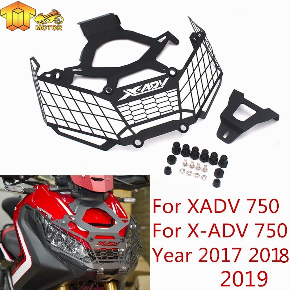 [해외]CK CATTLE KING For Honda X ADV XADV X-ADV 750 2017 2018 Motorcycle modification Headlight Grille Guard Cover Protector/CK CATTLE KING For Honda X