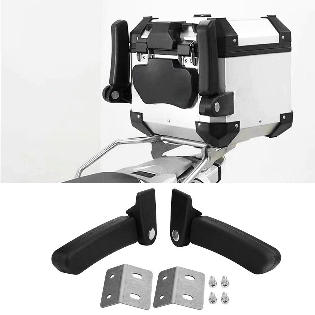 [해외]Motorcycle Passenger Armrest ABS Passenger Rear Folding Top Case Box Rear Seat Armrest Kit Black Universal for BMW Yamaha KTM/Motorcycle Passenger