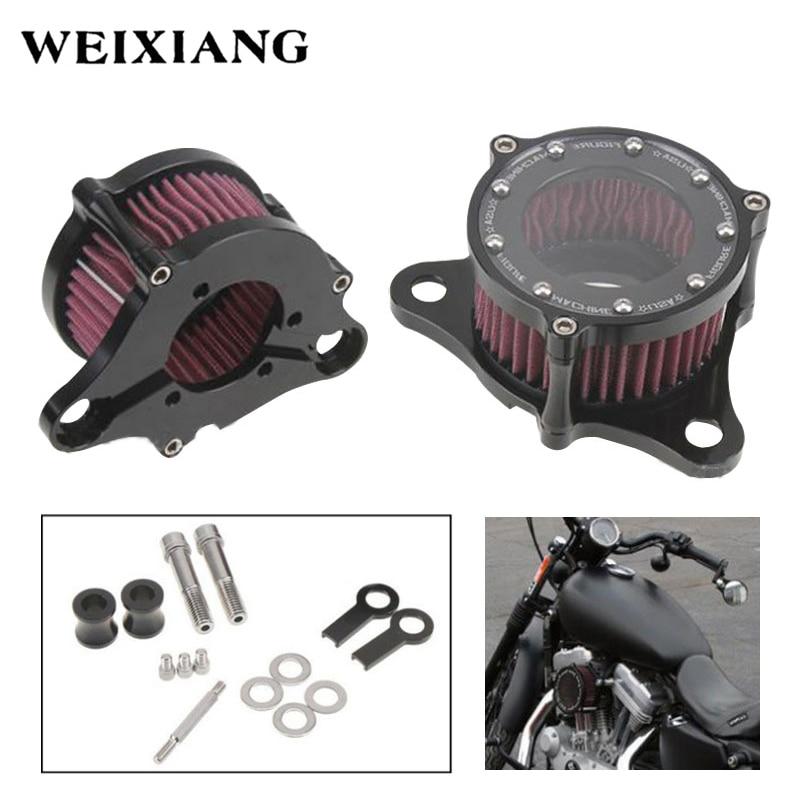 [해외]CNC Aluminum alloy Motorbike Air Cleaner Intake Filter System Kit For Harley Sportster XL883 XL1200 2004-2014/CNC Aluminum alloy Motorbike Air Cle
