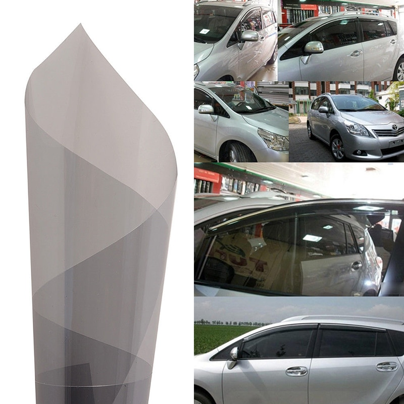 [해외]50cmX300cm 2ply PET material self adhesive heat insulation VLT50% privacy solar film window glass film/50cmX300cm 2ply PET material self adhesive