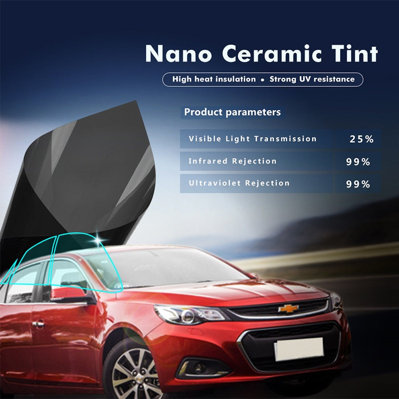 [해외]50cmX300cm New type UV99% high IR rejection car window solar korea nano ceramic film/50cmX300cm New type UV99% high IR rejection car window solar