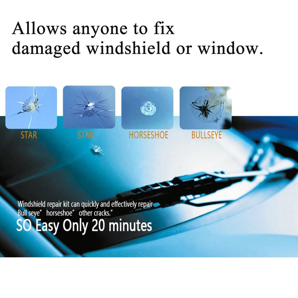 [해외]Diy 자동차 앞 유리 수리 키트 도구 자동 유리 창 앞 유리 수리 세트
