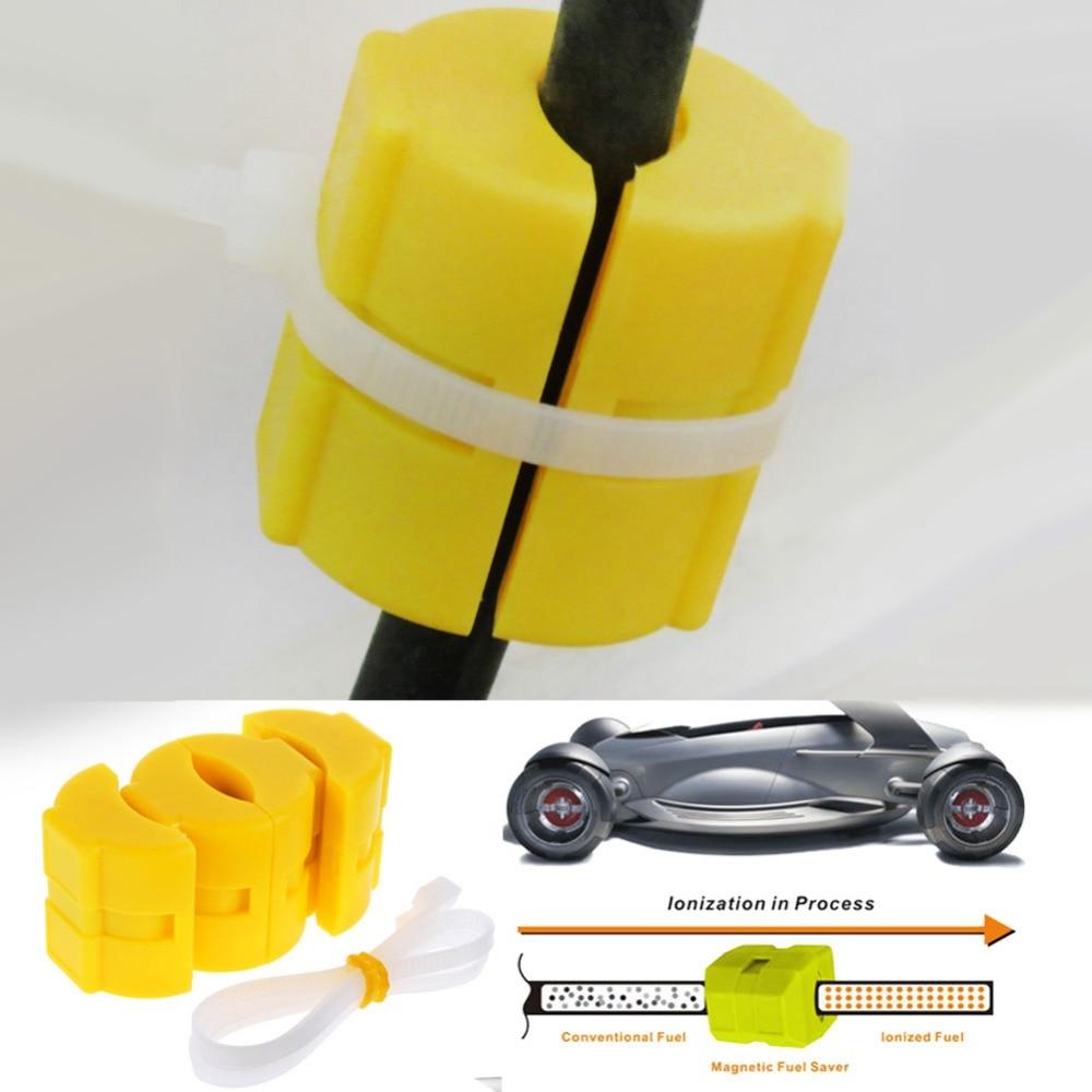 [해외]VODOOL Car Vehicle Magnetic Gas Fuel Saver Car Power Saver Oil Saving Economizer Fuel Saver Yellow Color ABS  Tools/VODOOL Car Vehicle Magnetic Ga