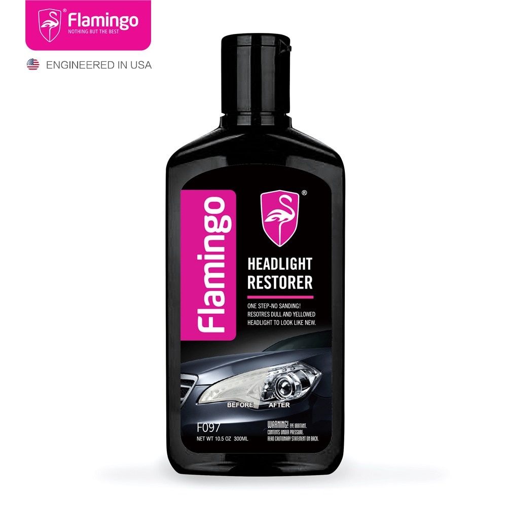 [해외]300ml Car Headlight Restorer Headlamp Polish Light Cleaner Lamp Lense Brightener Headlight Restoration  Kit For Auto 10.5OZ/300ml Car Headlight Re