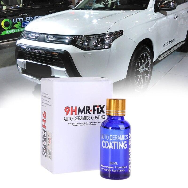 [해외]Hot New 1 Set 30ML 9HMR FIX Coating Auto Car Paint Anti-scratch Glass Car Liquid Ceramic Coat Polish Tool /Hot New 1 Set 30ML 9HMR FIX Coating Aut