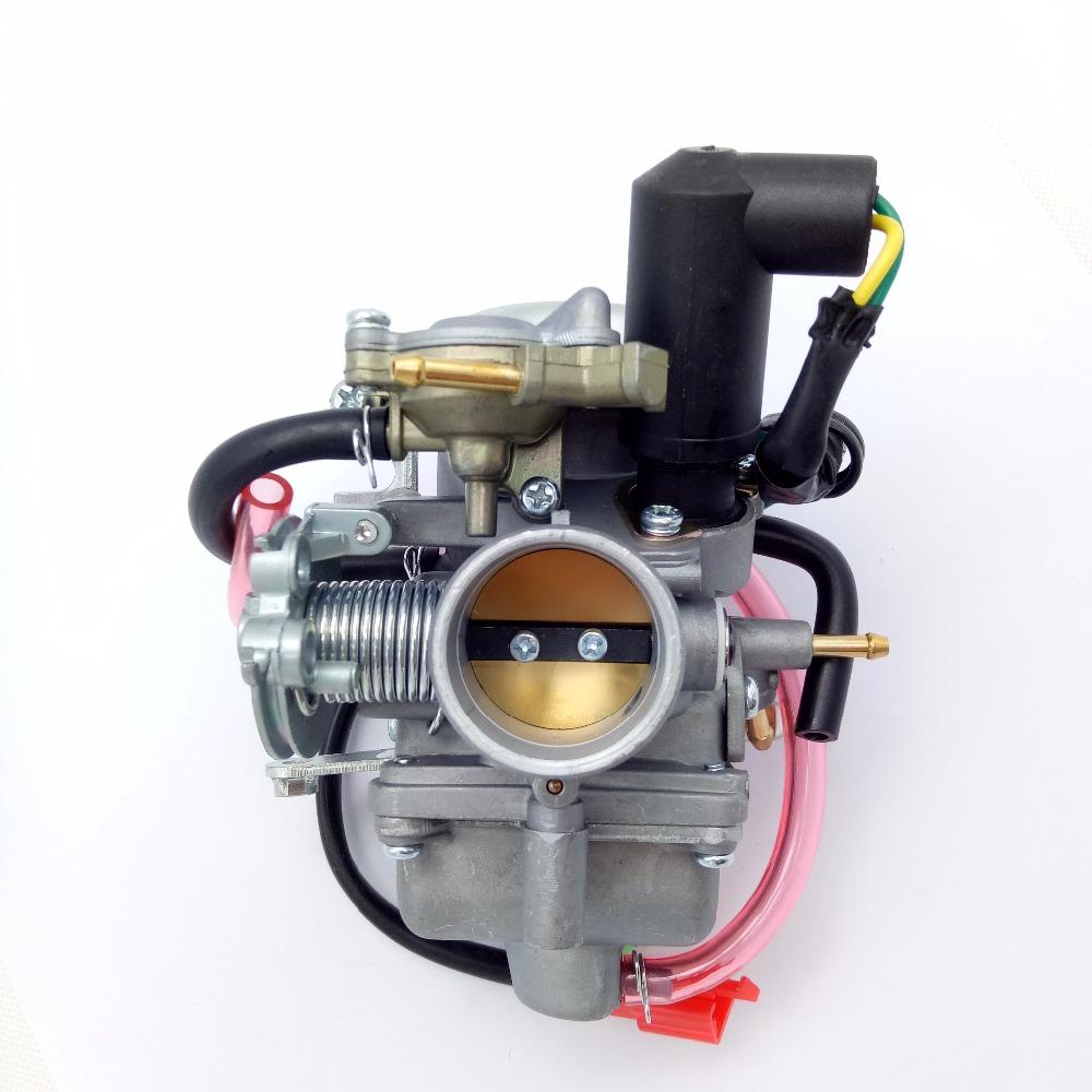 [해외]새로운 30mm KF 기화기 PD30, 250cc 300cc 오토바이 스쿠터 ATV에 적합/New 30mm KF Carburetor PD30 Fits 250cc 300cc Moped Scooter ATV Hot