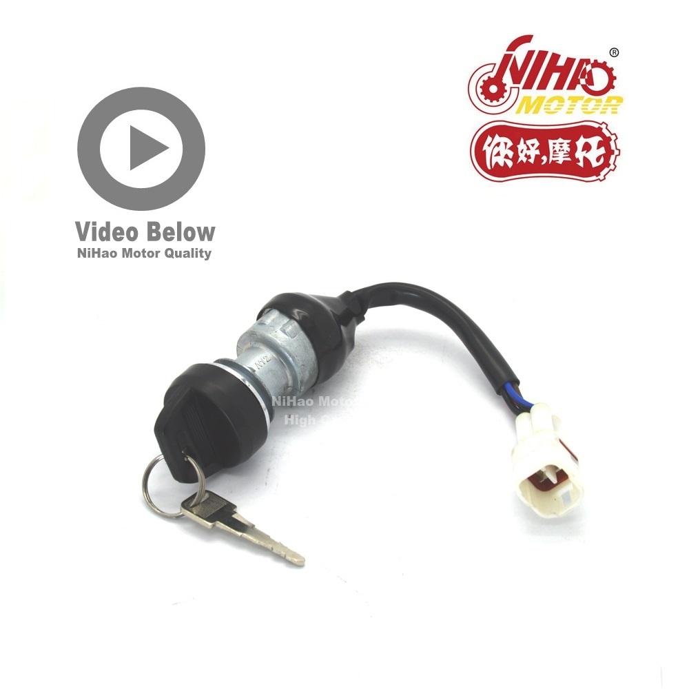 [해외]HISUN 부품 HS400cc ATV400 점화 스위치 Hisun에 대 한 키 잠금 400cc HS400 ATV UTV HS 400 부품 NIHAO MOTOR/HISUN PARTS HS400cc ATV400 Ignition Switch Key Lock for H