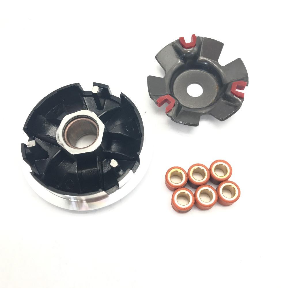 [해외]새로운 드라이브 클러치 성능 KOSO Variator12g 롤러 125-150CC 용 GY6 스쿠터/New Drive Clutch Performance KOSO Variator12g Roller for 125-150CC GY6 SCOOTER