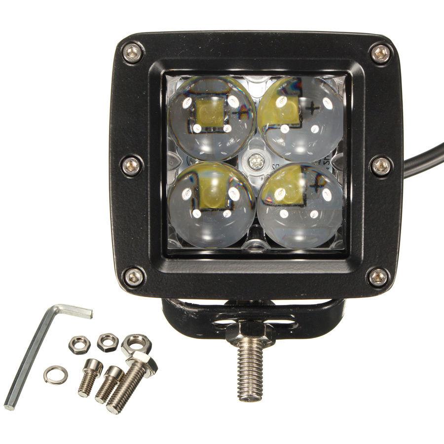 [해외]4000LM 40W CRREE 4 LED 자동차 작업 조명 SUV 트랙터 4WD 오프로드 스팟 램프 12V 24V/4000LM 40W CRREE 4 LED Car Work Light SUV Tractor 4WD Offroad Spot Lamp 12V 24V
