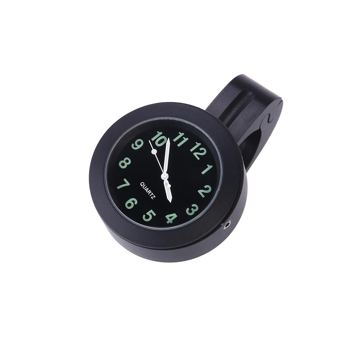 [해외]7/8 인치 방수 오토바이 오토바이 핸들 바 다이얼 글로우 시계 (블랙)/7/8 Inch Waterproof Motorcycle Motorbike Handlebar Dial Glow-Watch Clock (Black)