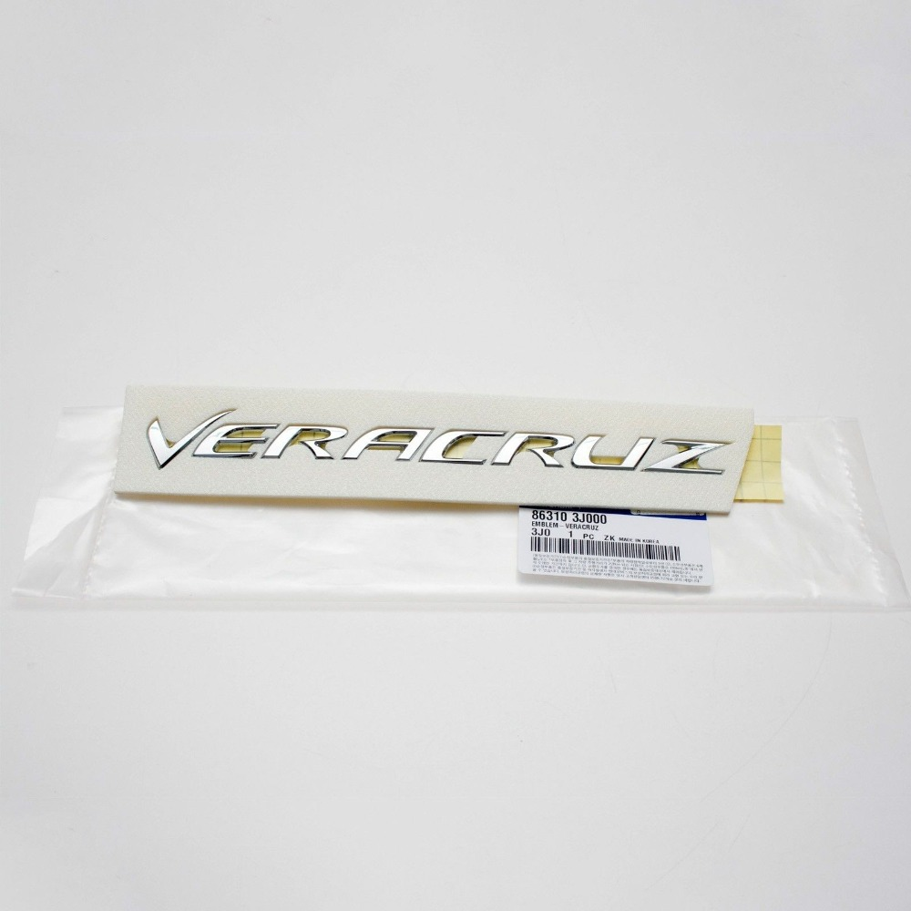 [해외]Hyundai Veracuz 2002-2015 OEM 부품 뒷 트렁크 Veracuz Emblem 863103J000 86310 3J000/For Hyundai Veracuz 2002-2015 OEM Parts Rear Trunk Veracuz Emblem  86