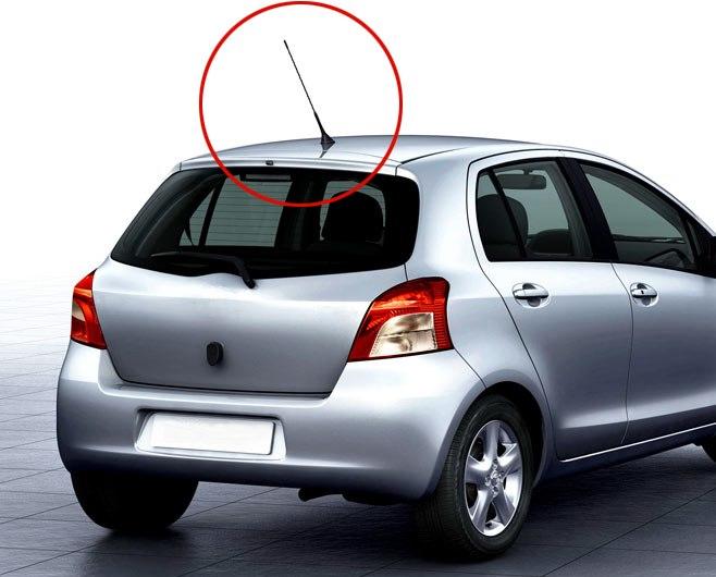 [해외]11 인치 스크류 인 AM / FM 루프 안테나 채찍 돛대 차 스타일링 자동차 용품 교체 부품 안테나/11 inch Screw-in AM/FM Roof Antenna Whip Mast Car Styling Car Accessories Replacement Par