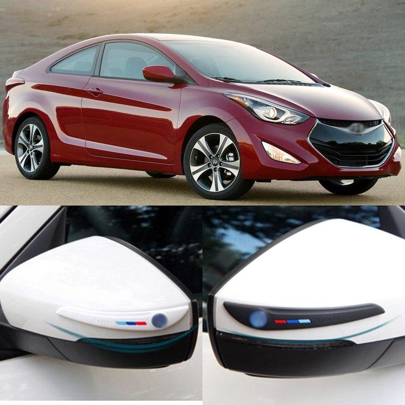 [해외]?자동차 스타일링 2pcs 새로운 측면보기 미러 러버 범퍼 프로텍터 가드 스크래치 스티커 트림 현대 자동차에 대 한/ Car-styling 2pcs New Side View Mirror Rubber Bumper Protector Guard Scratch Stic