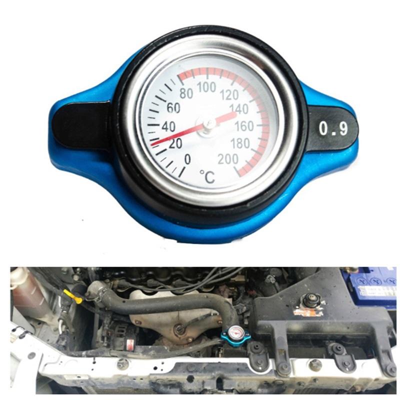 [해외]자동차 탱크 커버 & amp; 물 온도 게이지 0.9BAR 1.1BAR 1.3 BAR 자동차 액세서리 Thermost 라디에이터 캡 커버/Car Tank Cover & Water Temp Gauge 0.9BAR 1.1BAR 1.3 BAR Car A