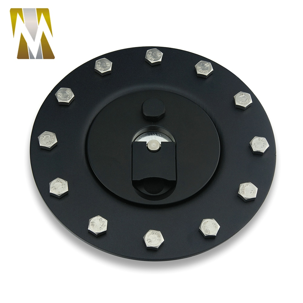 [해외]새로운 연료 전지 서지 탱크 커버 가스 뚜껑 필러 캡 금속 ABS12 볼트 구멍 빌릿 알루미늄 재질/New Fuel Cell Surge Tank Cover Gas Lid Filler Cap Metal ABS12 bolt holes Billet Aluminum