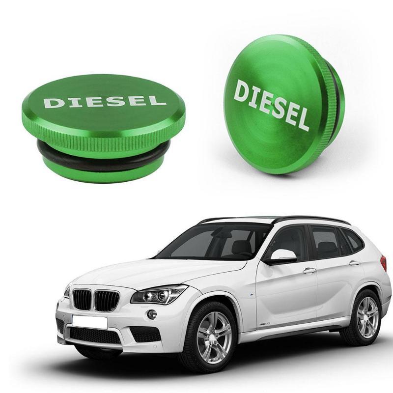 [해외]VODOOL 자동차 자동 자기 빌렛 알루미늄 디젤 연료 탱크 캡 자동차 교체 오일 탱크 커버 닷지 램 2013-2017 그린/VODOOL Car Auto Magnetic Billet Aluminum Diesel Fuel Tank Cap Vehicle Replac