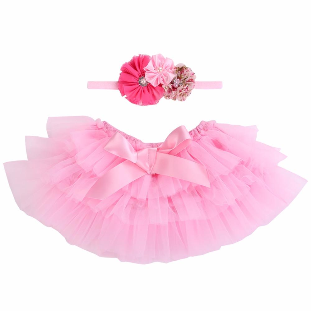 [해외]2017 프릴 투투 스커트 아기 소녀 세트 발레 신생아 베이비 스커트 유아 유아 공주 파티 아기 소녀를아기 옷 싸구려/2017 Ruffle Tutu Skirt Baby Girl Set Ballet Newborn Baby SkirtHeadband Infant Pr