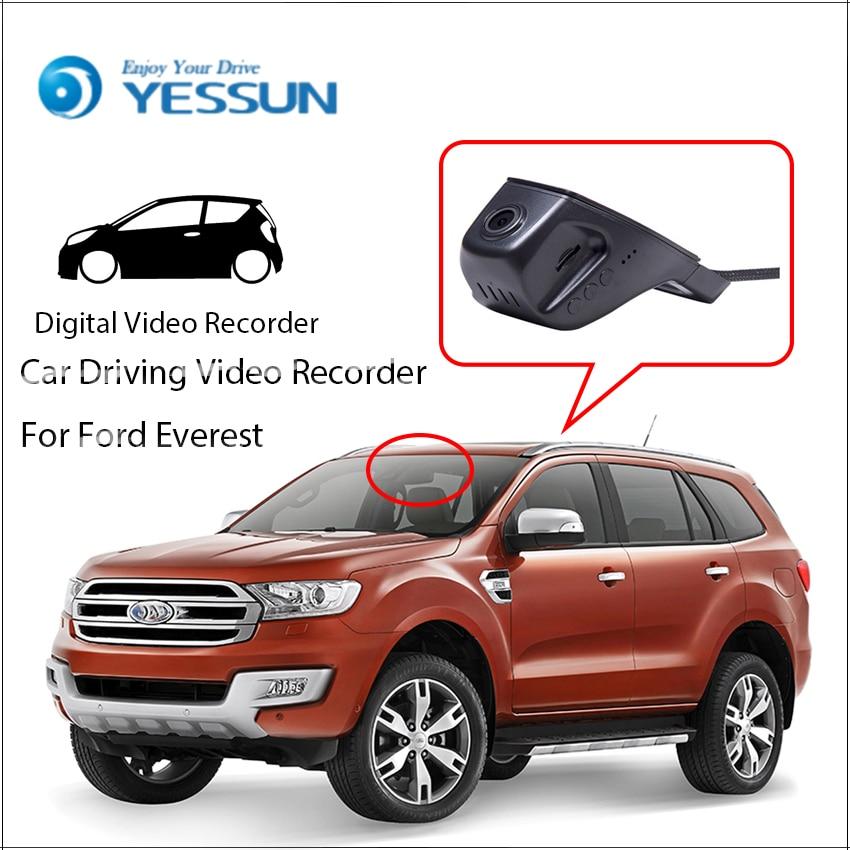[해외]포드 에버리스트를YESSUN 차량용 DVR 디지털 비디오 레코더 - 역전 용 주차 카메라 - 전면 카메라 대시 블랙 박스 HD 1080P/YESSUN Car DVR Digital Video Recorder For Ford Everest  Not Reverse P