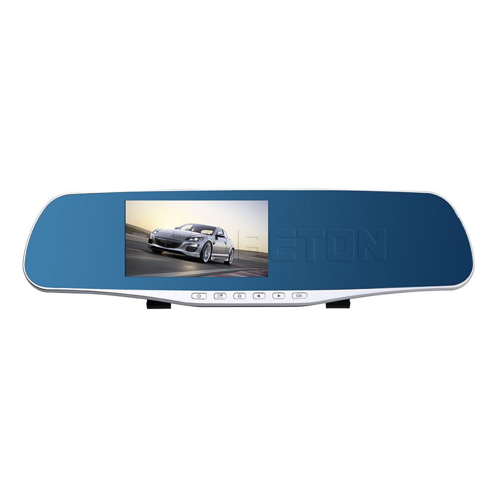 [해외]4.7 인치 자동차 후면보기 DVR HD 1080P 거울을 듀얼 렌즈 비디오 레코더 카메라 캠 8MP JF-H909 듀얼 렌즈/4.7 inch Car Rear View DVR HD 1080P  Reversing Mirror Dual Lens Video Recor