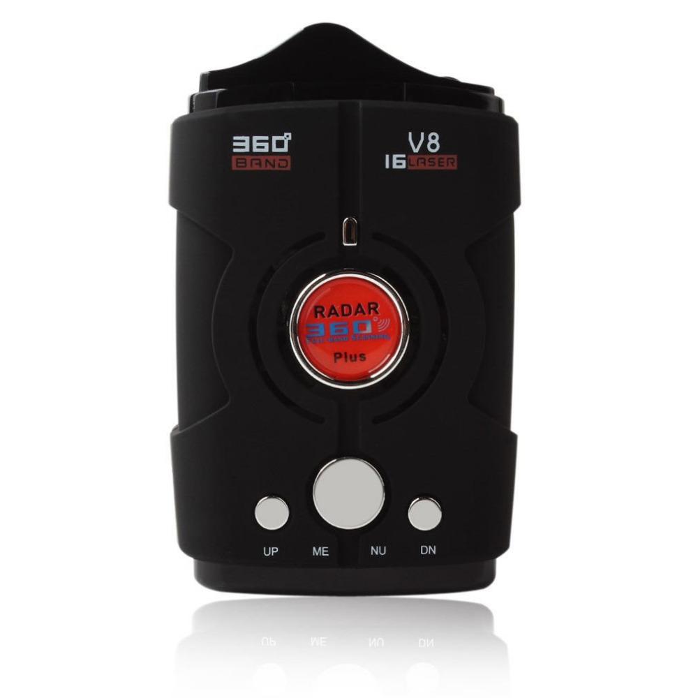 [해외]V8 360도 자동 레이더 탐지기 자동차에 대 한 고정 음성 경보 속도 제어 안전 차량 레이더 탐지 안티 경찰 전체 밴드/V8 360 Degree Auto Radar Detectors for Car Fixed Voice Alarm Speed Control Saf