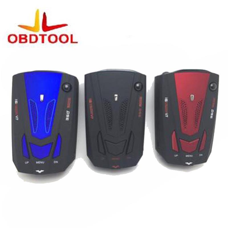 [해외]ObdTooL 3 색 360도 v7 자동차 레이더 탐지기 안티 경찰 전체 16LED 밴드 속도 안전 스캐닝 고급 음성 경고 경고/ObdTooL 3 Color 360 Degree v7 Car Radar Detector Anti Police Full 16LED Ba