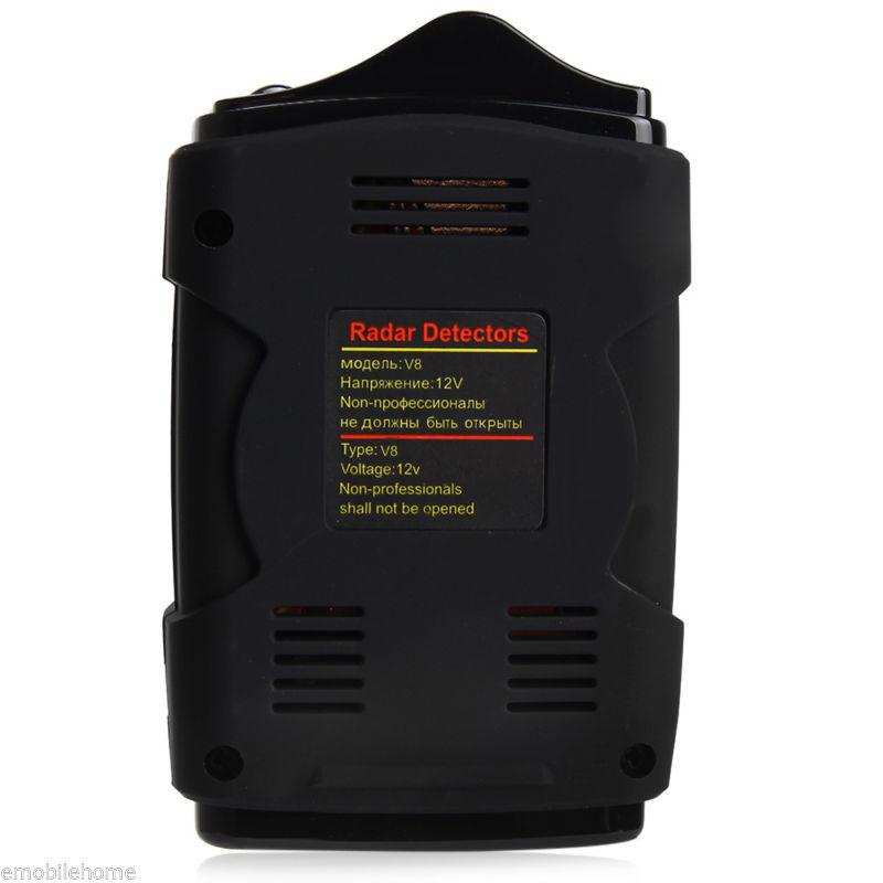 [해외]360도 듀얼 언어 음성 경고 레이저 알람 16 밴드 LED 디스플레이 도구 자동차 레이더 탐지기 V8/360 Degree Bilingual Voice Warning Laser Alarm 16-Band LED Display Tools Car Radar Detec