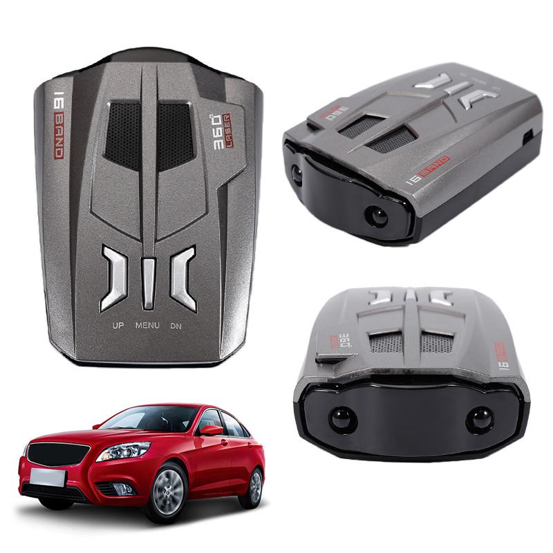 [해외]자동차 자동차 속도 레이저 레이더 탐지기 음성 경고 경고 LED 16 밴드 DC 12V V9 자동차 스타일링 자동차 액세서리 캠핑 온천/Auto Car Vehicle Speed Laser Radar Detector Voice Alert Warning LED 16