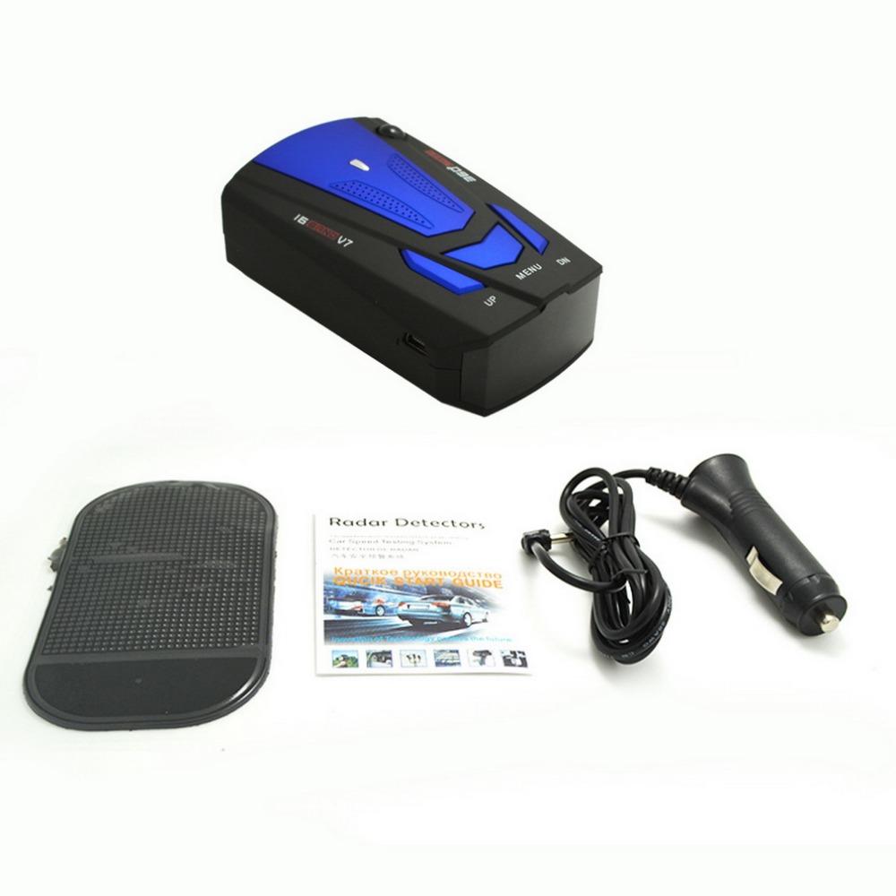 [해외]2017 새로운 영어 음성 안티 레이더 탐지기 360도 V7 자동차 속도 제한 레이더 탐지기 자동차 스타일링, 자동차 감지기/2017 New English Voice Anti Radar Detector 360 Degree V7 For Car Speed Limit