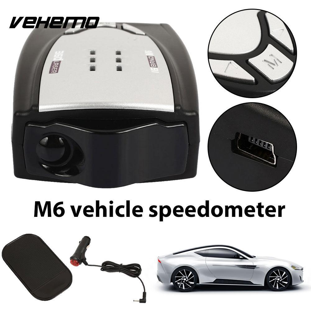 [해외]Vehemo 360도 LED 디스플레이 자동차 탐지기 풀 밴드 스캐닝 속도 제어 검출기 자동차 레이더 범용 드라이브 안전/Vehemo 360 Degrees LED Display Car Detector Full Band Scanning Speed Control D