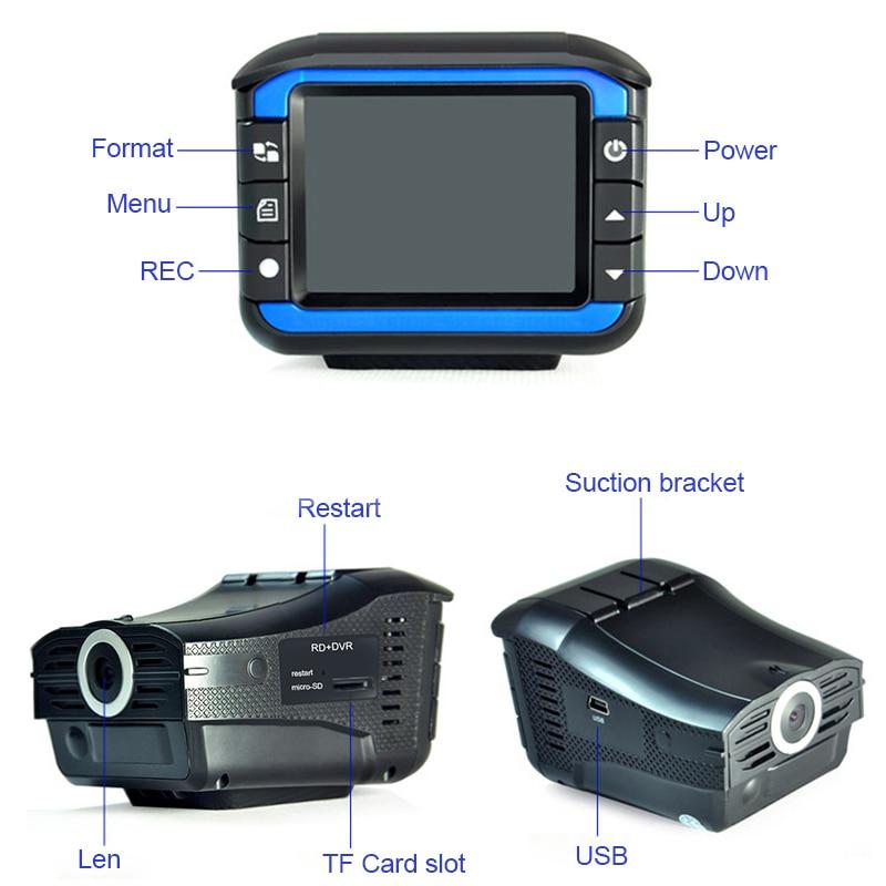 [해외]2018 자동 휴대용 레이더 탐지기 DVR 대시 캠 차량 안티 경찰 속도 제어 안전 음성 경보 2in1 레이더 탐지/2018 Auto Portable Radar DetectorsDVR Dash Cam Vehicle Anti Police Speed Control