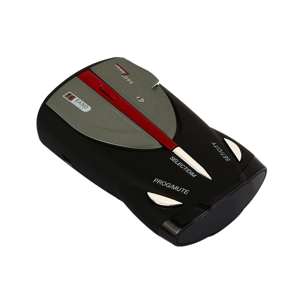 [해외]360도 XRS9880 차량용 레이더 GPS 레이더 16 밴드 스캐닝 음성 경고 경고 건 드리면 내구성이 뛰어난 유니버설 자동차 감지기/360 Degrees XRS9880 Car Radar GPS Radar 16 Band Scanning Voice Alert W