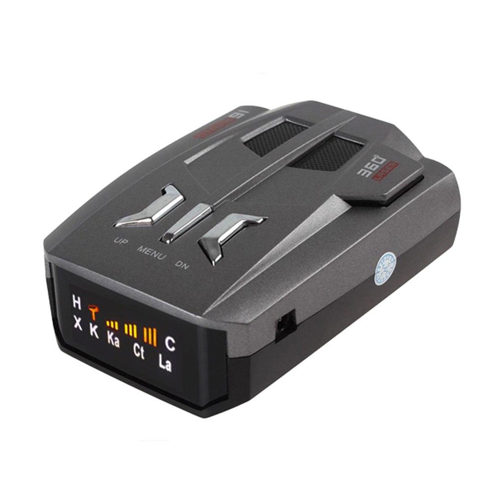 [해외]V9 차량용 레이더 탐지기 360도 K 및 KA 대역 LED 디스플레이 러시아 / 영어 음성 경고 경고 자동 레이더 탐지기/V9 Car Radar Detector 360 Degrees K and KA Band LED Display Russia / English