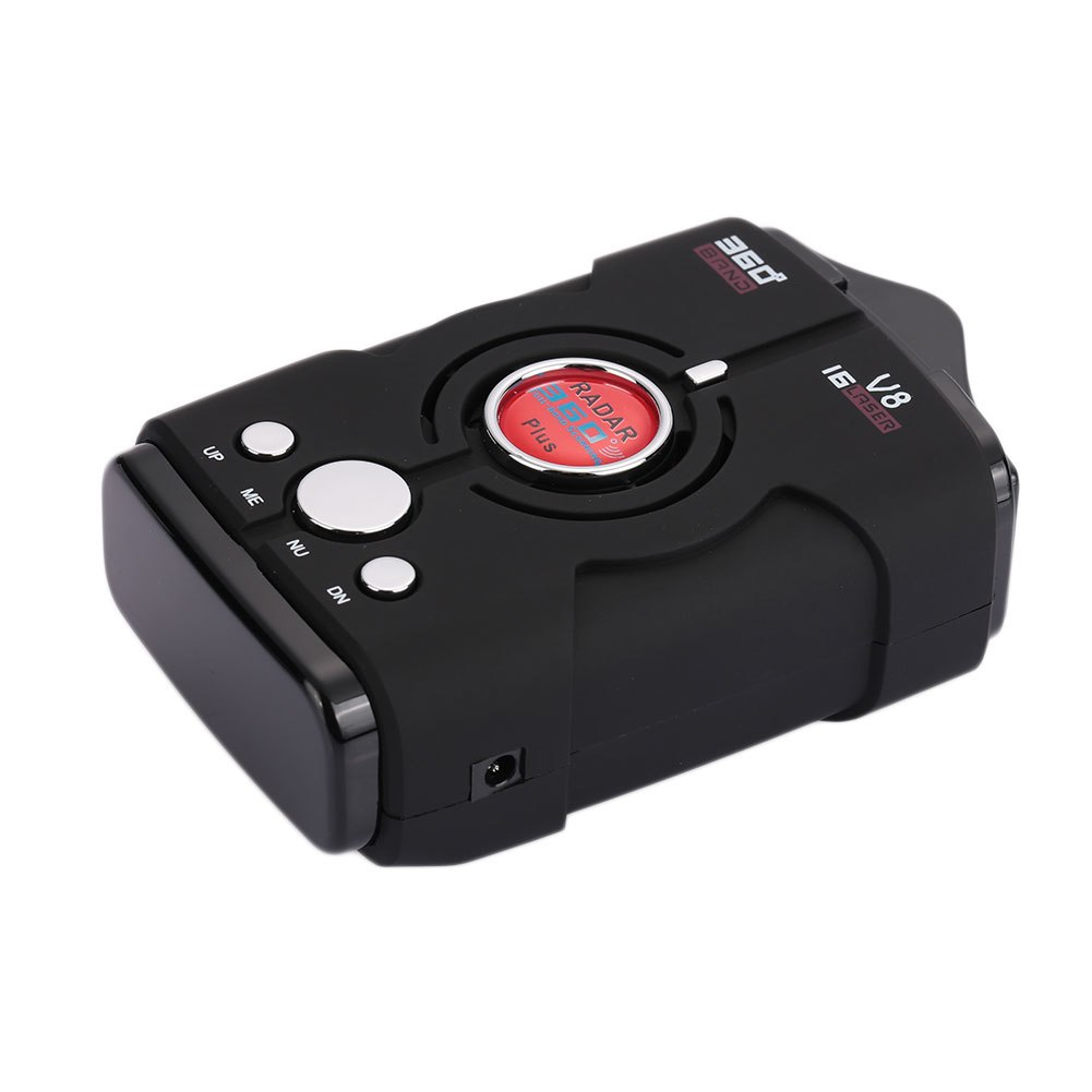[해외]360도 DC 12V 범용 자동차 레이더 속도 제어 검출기 트래커 탐지기 16 밴드 안티 레이더 드라이브 안전하게/360 Degrees DC 12V Universal Car Radar Speed Control Detector Tracker Detector 16