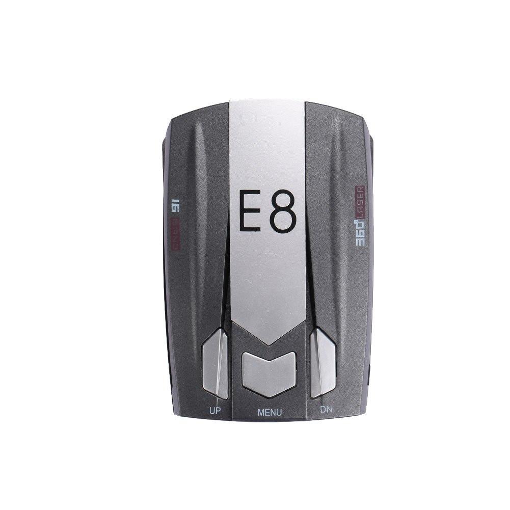 [해외]360도 E8 범용 카 레이더 트래커 검출기 속도 제어 검출기 풀 밴드 스캐닝 차량 속도 제어/360 Degrees E8 Universal Car Radar Tracker Detector Speed Control Detector Full Band Scanning