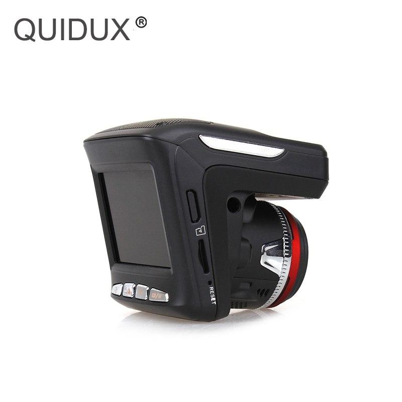 [해외]QUIDUX 차량용 레이더 탐지기 DVR GPS 추적기 3 in 1 2.4 및 화면 HD 720P 차량용 GPS 기록 장치 대시 캠코더 (러시아어 V)/QUIDUX Car Radar Detector DVR GPS Tracker 3 in 1 2.4& screen