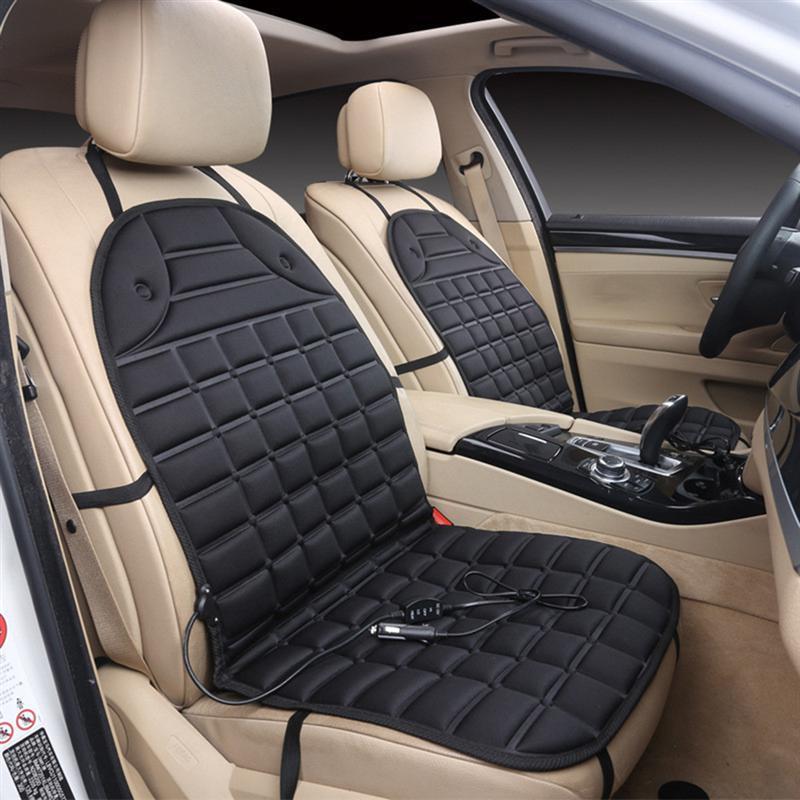 [해외]VORCOOL DC 12V 가열식 시트 쿠션 안전 밴 자동식 듀얼 시트 가열식 패드 쿠션 커버 자동차 시트 온열 장치/VORCOOL DC 12V Heated Seat Cushion Safe Van Auto Double Seat Heated Pad Cushion