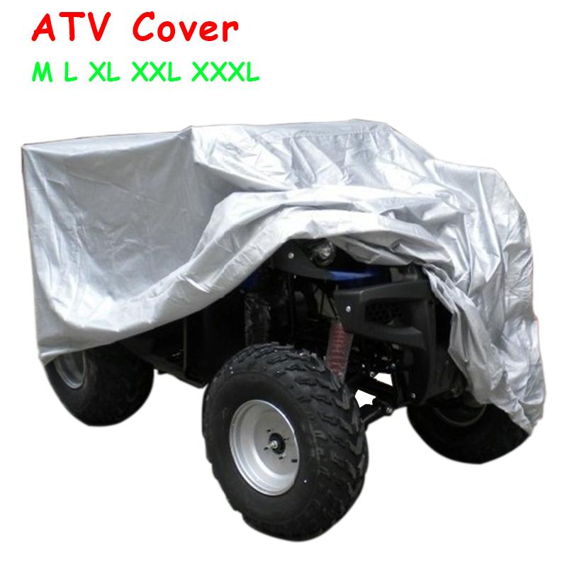 [해외]비치 쿼드 자전거 커버 방수 ATV 커버 방진 모든 지상 실버 해변 오토바이 케이스 오토바이 커버 보호대 모든 크기/Beach Quad Bike Cover Waterproof ATV Cover Dustproof All ground silver beach Moto