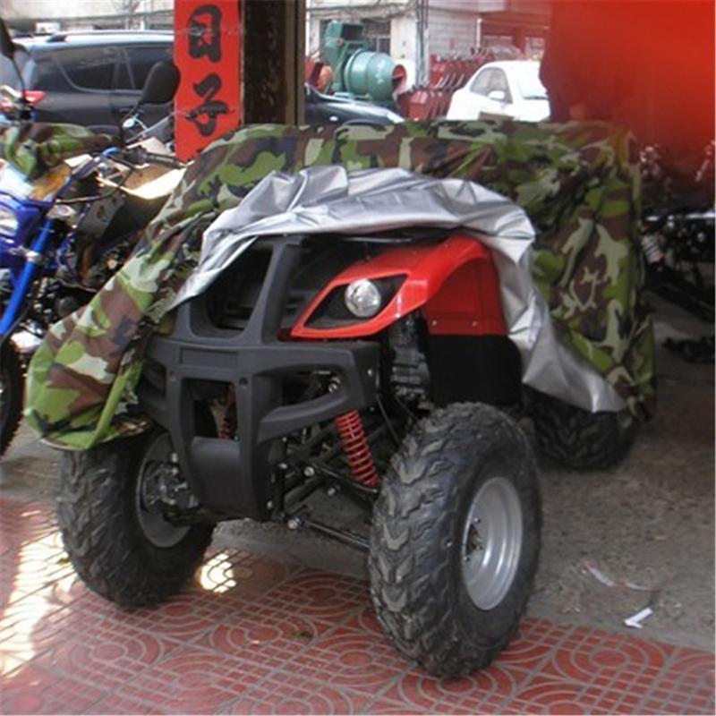 [해외]위장 모든 지형 차량 비치 오토바이 커버 ATV 커버 케이스 방수 스쿠터 오토바이 쿼드 자전거 커버 보호대/Camouflage All Terrain Vehicle Beach Motorcycle Cover ATV Cover Case Waterproof Scoote