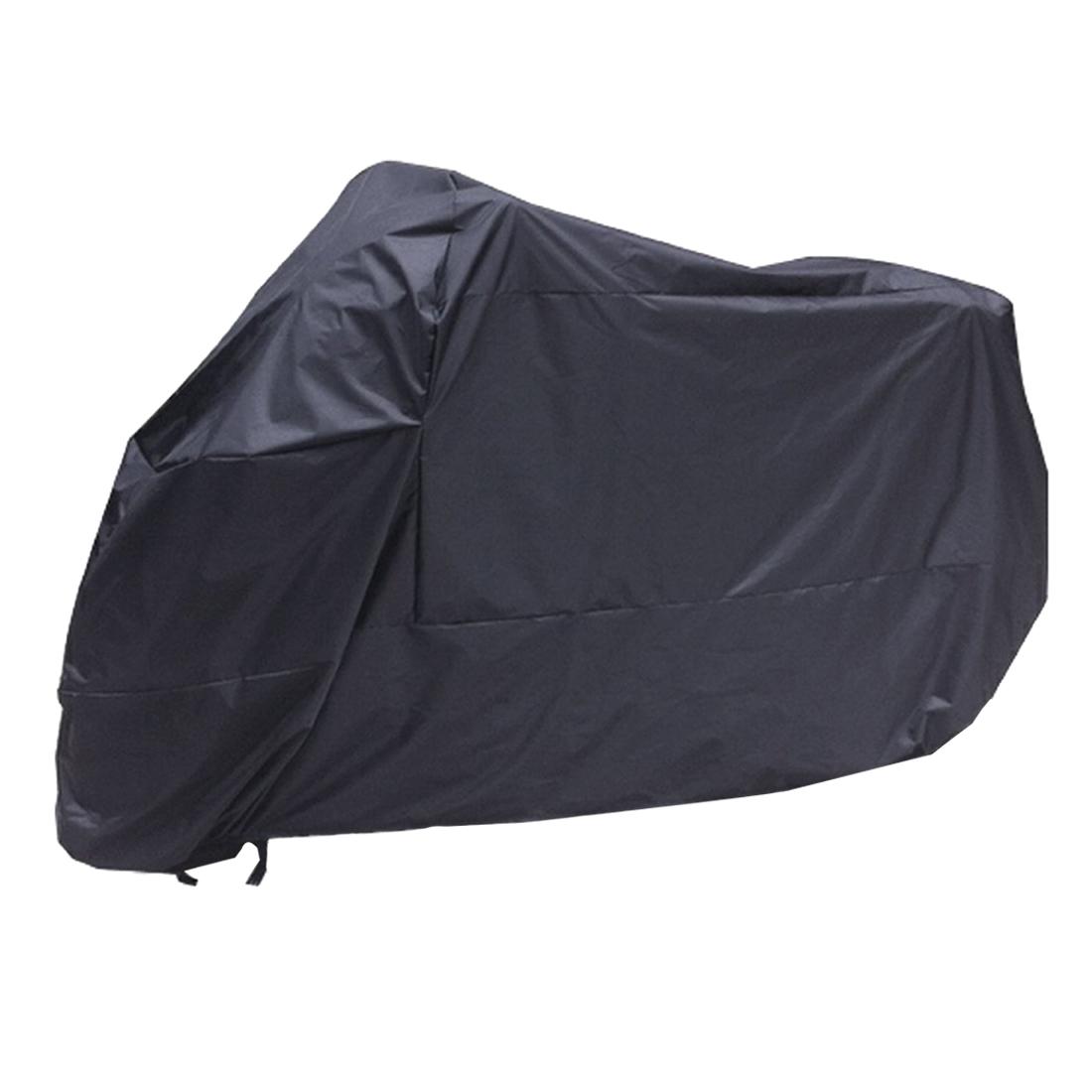 [해외]블랙 오토바이 오토바이 방수 물 저항하는 비 자외선 통기성 커버 야외 실내화물 가방/Black Motorcycle Motorbike Waterproof Water Resistent Rain UV Protective Breathable Cover Outdoor I