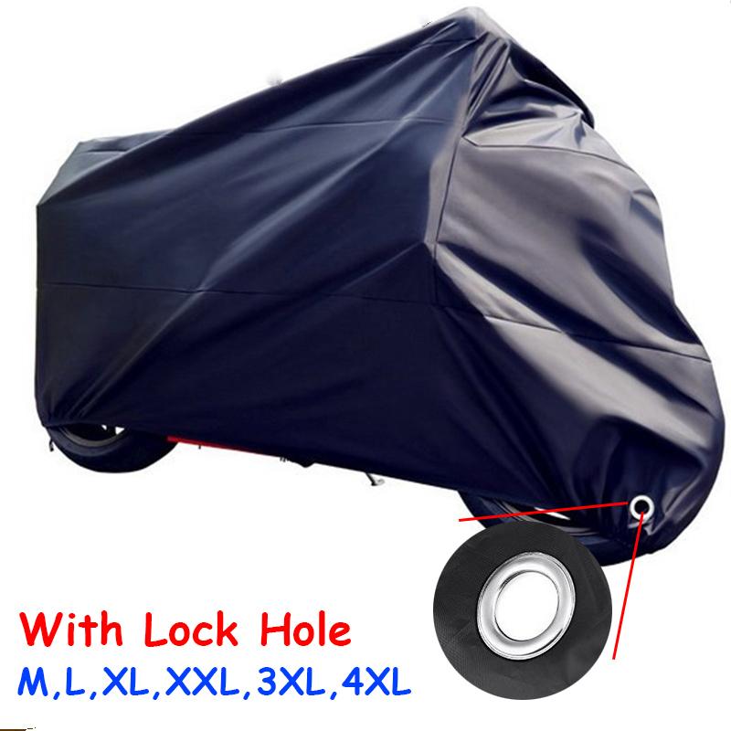 [해외]BlackSilver / Red 오토바이 커버 방수 UV 먼지 보호기 옥내 실내 오토바이 순양함 거리 스포츠 자전거 커버/BlackSilver/Red Motorcycle Cover Waterproof UV Dust Protector Outdoor Indoor M