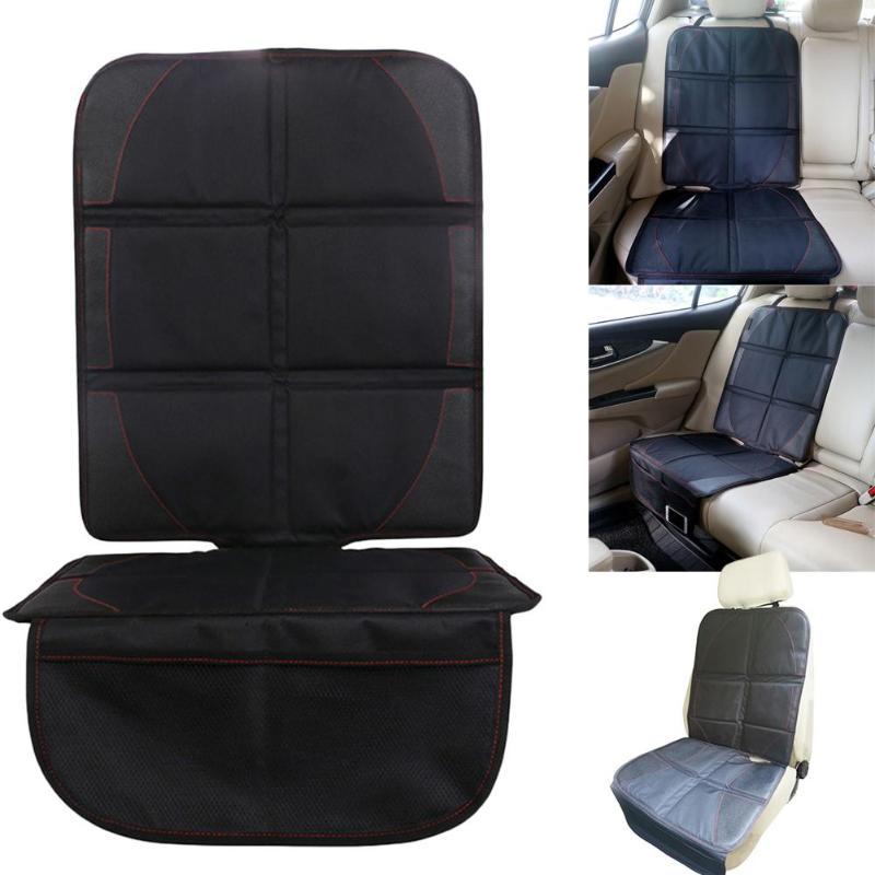 [해외]검은 자동차 좌석 보호 매트 자동 아기 자동차 좌석 커버 유아 시트 보호기 쉬운 청소 보호기 자동차 안티 안티 슬립 쿠션/Black Car seat protector mat Auto Baby car seat cover Infant Seat Saver Easy C