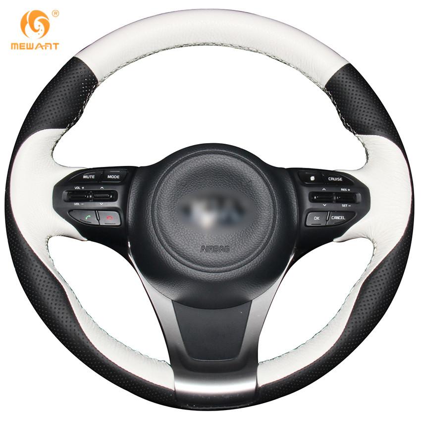 <span style=''>[해외]MEWANT 기아 K5 Optima 2014 2015를검은 흰색 진짜 가죽 자동차 ..</span>