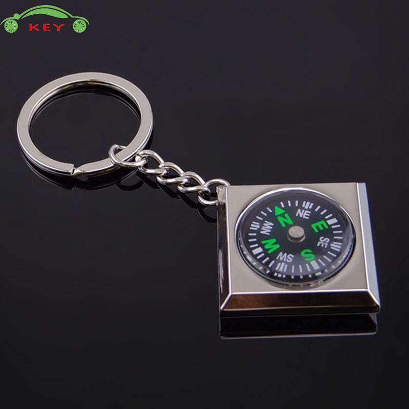 [해외]폭스 바겐 SAAB 르노 푸조 Proton 닛산 열쇠 고리에 대 한 금속 나침반 자동차 키 체인 오토바이 남자 키 체인 가방 펜 던 트/Metal Compass Car Keychain Auto Motorcycle Men Key Chain Bag Pendant f