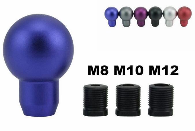 [해외]?자동차 기어 시프트 노브 시프터 레버 알루미늄 Momo Universal Fit 수동 변속기/ Car Gear Shift Knob Shifter Lever Aluminum Momo Universal Fit Manual Transmission
