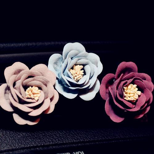 [해외]새로운 4 PC 섬세한 무광택 꽃 자동차 에어컨 콘센트 향수 자동차 공기 청정기 자동차 A / C 콘센트 향수 클립 장식/New 4 pcs Delicate Matte Flowers Car Air Conditioning Outlet Perfume Car Air F