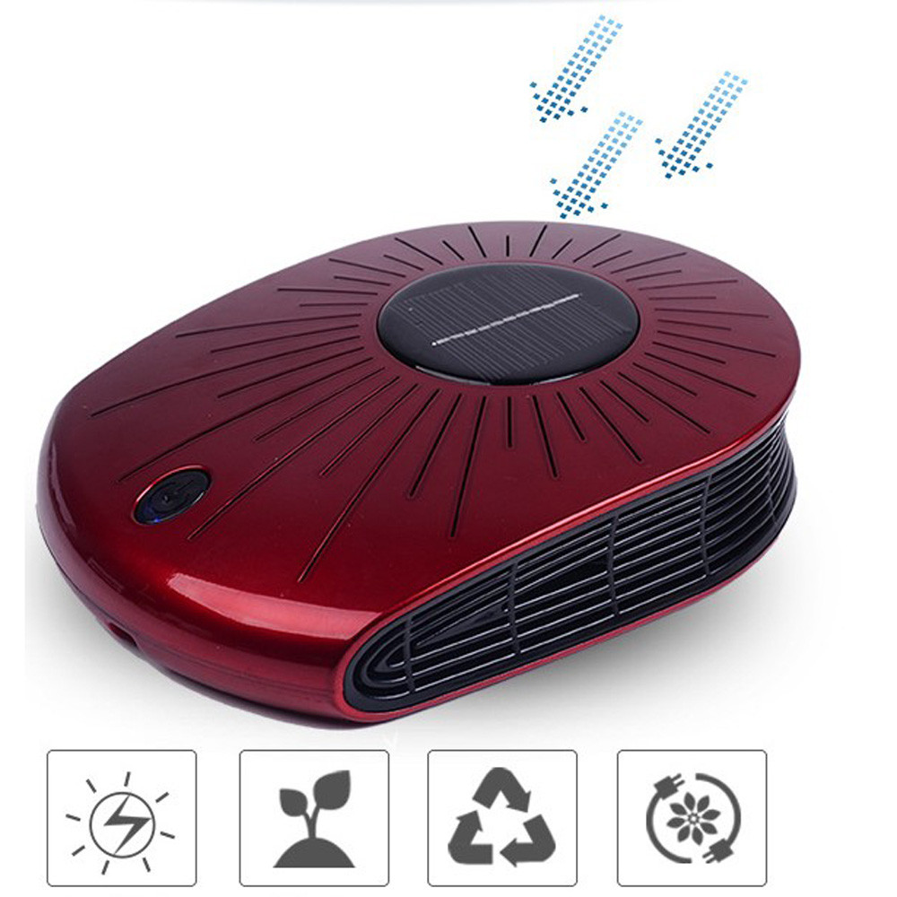 [해외]차량 Aire 소형 휴대용 차량 아로마 테라피 지원 태양 에너지 충전 공기 청정기 b/Vehicle Aire Small Portable Vehicle Aromatherapy Support Solar Energy Charging Air Purifier b