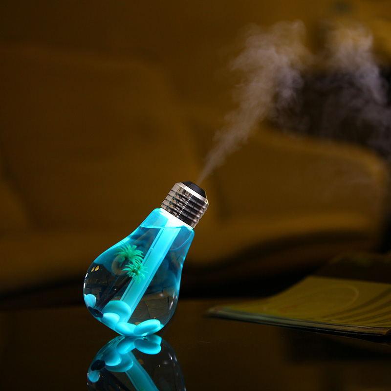 [해외]1 조각 400ML USB 데스크탑 LED 가벼운 가벼운 차 스타일링 공기 가습기 오일 에센셜 아로마 기관총 안개 제조 업체 안개/1 Piece 400ML USB Desktop LED Colorful Night Light Car Styling Air Humidi