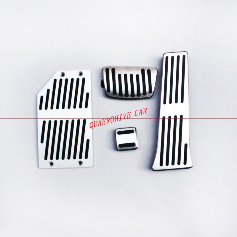 [해외]QDAEROHIVE 금속 자동차 인테리어 브레이크 페달 패드 발 받침 페달 커버 SORENTO 2009 커버/QDAEROHIVE Metal Car Interior  Brake Pedal Pads Foot Rest Pedals Covers For SORENTO 2