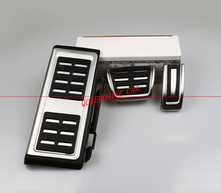 [해외]QDAEROHIVE 알루미늄 자동차 페달 브레이크 페달 클러치 페달 AUDI S4에 대 한 RS4 A5 S5 RS5 8T A6 4G S6 (C7) Q5 S5 RS5 A7 S7 SQ5 8R/QDAEROHIVE Aluminum Car Pedals Brake Peda