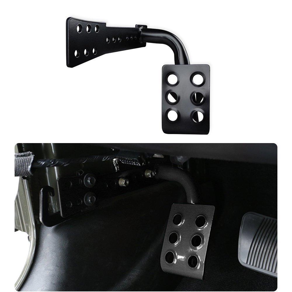 [해외]지프 언쟁하는 사람을 위해 JK 금속 차 실내 장식 죽은 페달 왼쪽 발 나머지는 JKU 무제한의 루비콘 사하라/For Jeep Wrangler JK Metal Car Interior Decoration Dead Pedal Left Side Foot Rest Ki